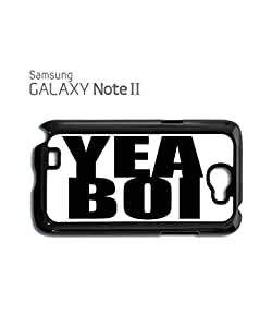 Yea Boi London Mobile Cell Phone Case Samsung Note 2 White