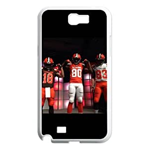 Cleveland Browns Samsung Galaxy N2 7100 Cell Phone Case White DIY gift zhm004_8683304