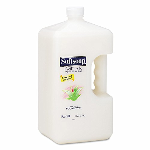 Product of Softsoap Naturals Moisturizing Hand Soap with Aloe Vera, 1 Gallon Bottle, 4 Bottles per Carton - Hand Soaps & Lotions [Bulk Savings] ()