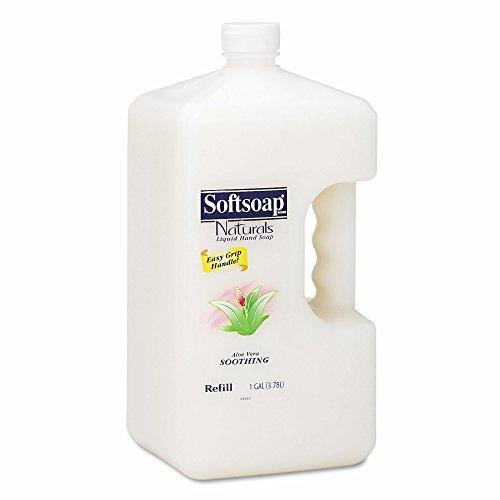 Product of Softsoap Naturals Moisturizing Hand Soap with Aloe Vera, 1 Gallon Bottle, 4 Bottles per Carton - Hand Soaps & Lotions [Bulk Savings]