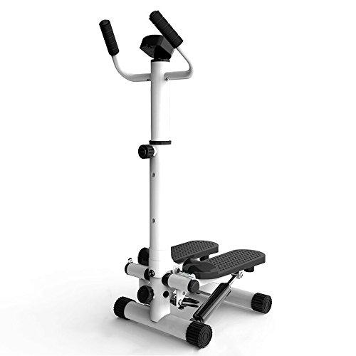 JYKJ Mini Stepper, Fitness Pedaal Calorie Consumptie Teller Mute Armsteun Afslanken Stepper Klimmen Voet Machine…