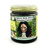 Living Tree Alive Organic Black Tahini - 8 Ounce