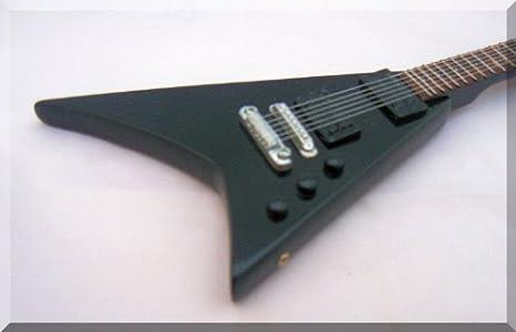 Randy Rhoads Jackson miniatura Guitarra 1: Amazon.es: Instrumentos ...