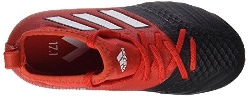 adidas Ace 17.1 FG J, Para Los Zapatos de Entrenamiento de Fútbol Unisex Bebé Rojo (Rojo/ftwbla/negbas)
