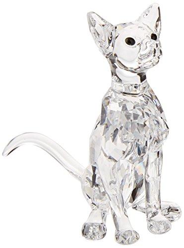Swarovski Siamese Cat Figurine