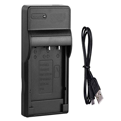 Micro USB Battery Charger for Sony HDR-XR105E, HDR-XR106E, HDR-XR155E Handycam Camcorder