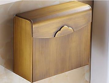 LISABOBO Papier Handtuch Halter mit einem Modele Antik/Wc Fach ...
