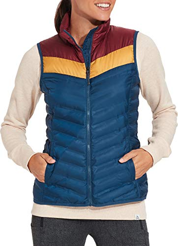 - Alpine Design Women's Explorer Vest (S, Cambridge/Maroon/Pilsner)
