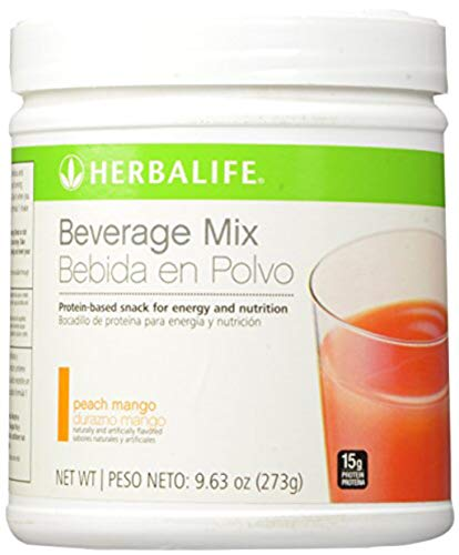 Deluxe Beverage - Herbalife Beverage Mix Canister Peach Mango