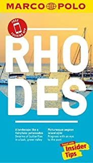 570d7d8c0633c Rhodes Marco Polo Pocket Travel Guide 2018 - with pull out map (Marco Polo  Guides