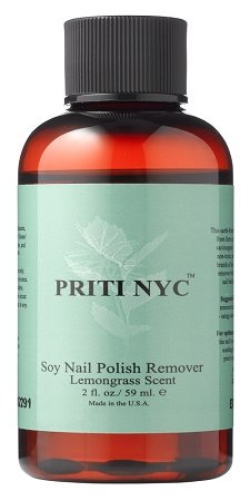 Nail Polish Remover - Natural Soy By Priti 2 oz.