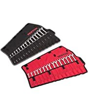 TEKTON 90192 Combination Wrench Set with Roll-Up Storage Pouch, 30 Piece
