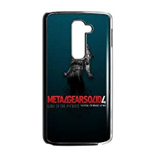 LG G2 Cell Phone Case Black Metal Gear Solid 4 SP4102418