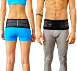Sacroiliac Joint Brace SI Belt to Relieve Leg/Sciatica Nerve Pain, Lower Back Pain and Lower Spine and Hips Pain   Breathable, Comfortable, Anti-Slip Back Braces to Reduce Joint Inflammation