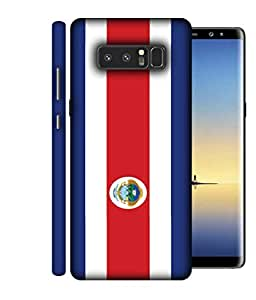 ColorKing Football Costa Rica 10 Multi Color shell case cover for Samsung Note 8