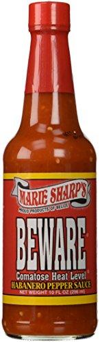 (Marie Sharp's Beware Comatose Hot Sauce)
