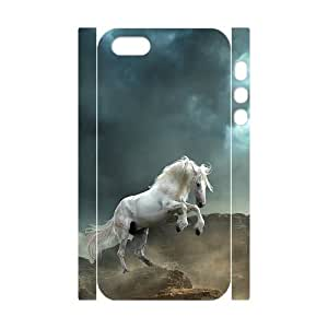 Horse Running Customized 3D Cover Case for Iphone 5,5S,custom phone case ygtg522103