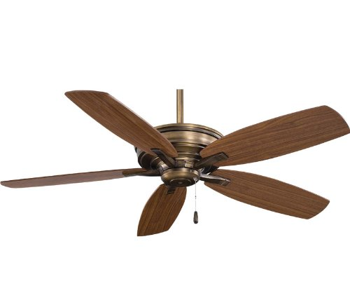 Minka-Aire F695-CC Minka Aire Cognac Ceiling Fan, (Minka Wood Antique Ceiling Fan)