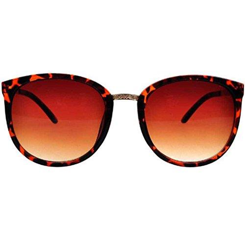 de de Gafas ordenador lentes de moda UV400 sol mujeres las de Mengonee de marco gafas resina retro metal de protección sol 3 las qwtFg5d