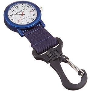 Dakota Watch Company Light Backpacker Clip Watch with Dial Light