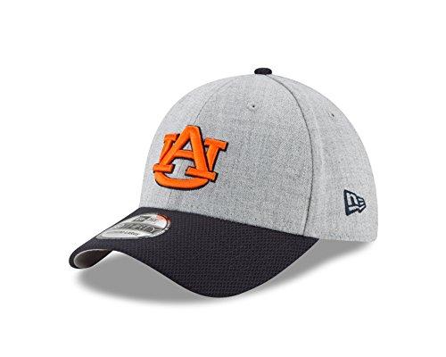 NCAA Auburn Tigers Adult Change Up Redux 39THIRTY Stretch Fit Cap, Large/X-Large, Heather Gray (Auburn Tigers Wool)