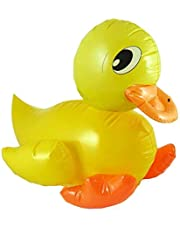 Henbrandt NEW LARGE 42cm INFLATABLE YELLOW DUCK HB
