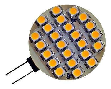 5 x autocaravana Caravana G4 24 SMD LED 1,9 W 150 lm 12 V