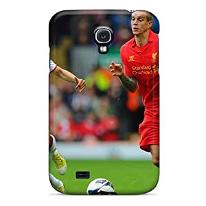 Rewens Slim Fit Tpu Protector YUz2302VZHQ Shock Absorbent Bumper Case For Galaxy S4