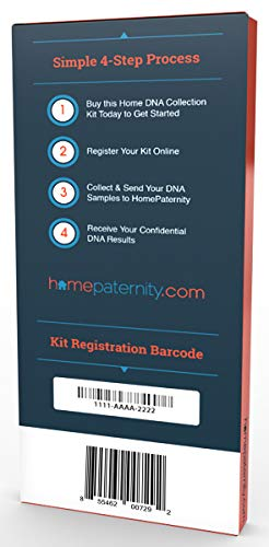 Home Paternity DNA Test Kit | Lab Fees Included | Results in 1-2 Business Days | No Cost to Return Samples | Simple, Accurate | Confidential Results in The Privacy of Your Home by HomePaternity (Image #1)