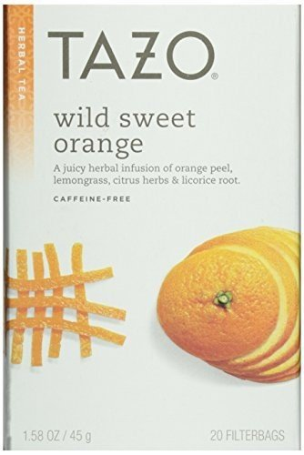 TAZO Tea Sweet Orange, 20 BG, PK- 6 by TAZO