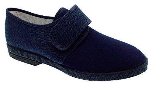 Slipper coton stretch bleu extra large physiothérapie