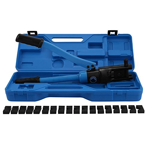 Mophorn Hydraulic Wire Crimper Battery Cable Lug Terminal...