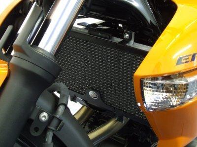 R&G(アールアンドジー) ラジエターガード ブラック ER-6n(09-) ER-6f/Ninja650R[ニンジャ](09-) VERSYS [650cc] [ヴェルシス](10-12) RG-RAD0091BK   B005JWIYJI