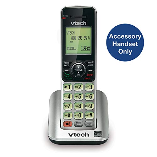 VTech CS6609 Cordless Accessory Handset - Requires a compatible phone system purchased separately (VTech CS6619, CS6629, CS6648, or CS6649)