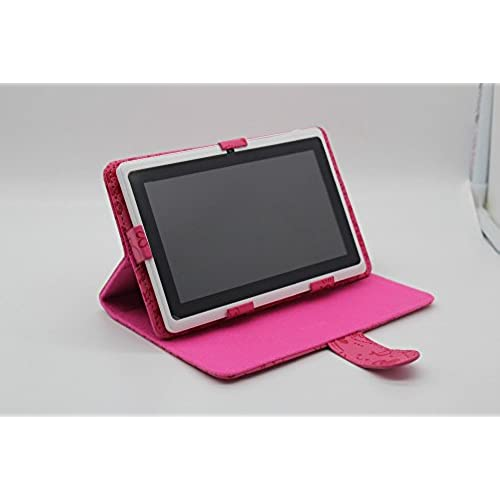 Q8 7 Tablet Pc Android 4.4 Google A23 Dual-Core 512Mb-8Gb Bluetooth Wifi The Cheapest Tablet Pc Support Holster^.Pink Color Tablet Coupons