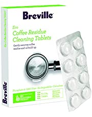 Breville Eco Coffee Residue Cleaner, 8 Pack, Clear, BES012CLR