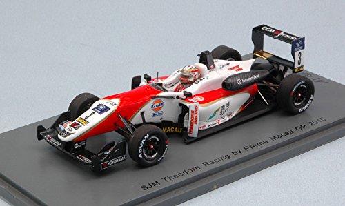DALLARA F3 LANCE STROLL 2015 N.3 8th MACAU GP 1 43 (LIM.300) - Spark Model - Formula 1 - Die Cast - Modellino