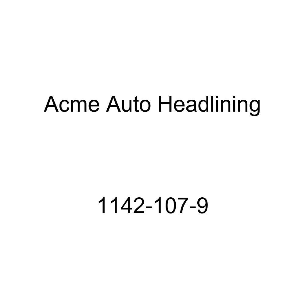 Acme Auto Headlining 1142-107-9 Dark Brown Replacement Headliner 1954 Buick Century, Special /& Oldsmobile 88, 98 4 Door Sedan 7 Bows