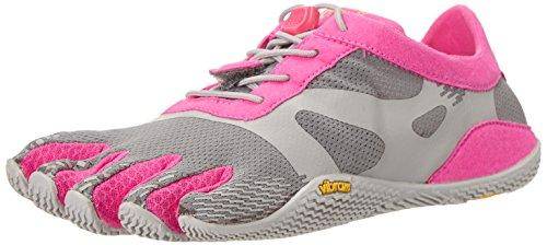 Vibram Women's KSO Evo Cross Training Shoe Grey/Pink