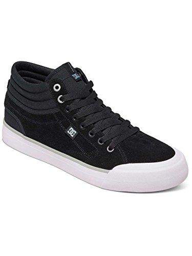 ADYS300380 Homme Chaussures Evan S Hi pour noir Skate de Montantes Smith Shoes blanc DC vZnqWaxPZ