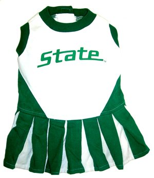 Pets First Michigan State University Dog Cheerleader Outf...