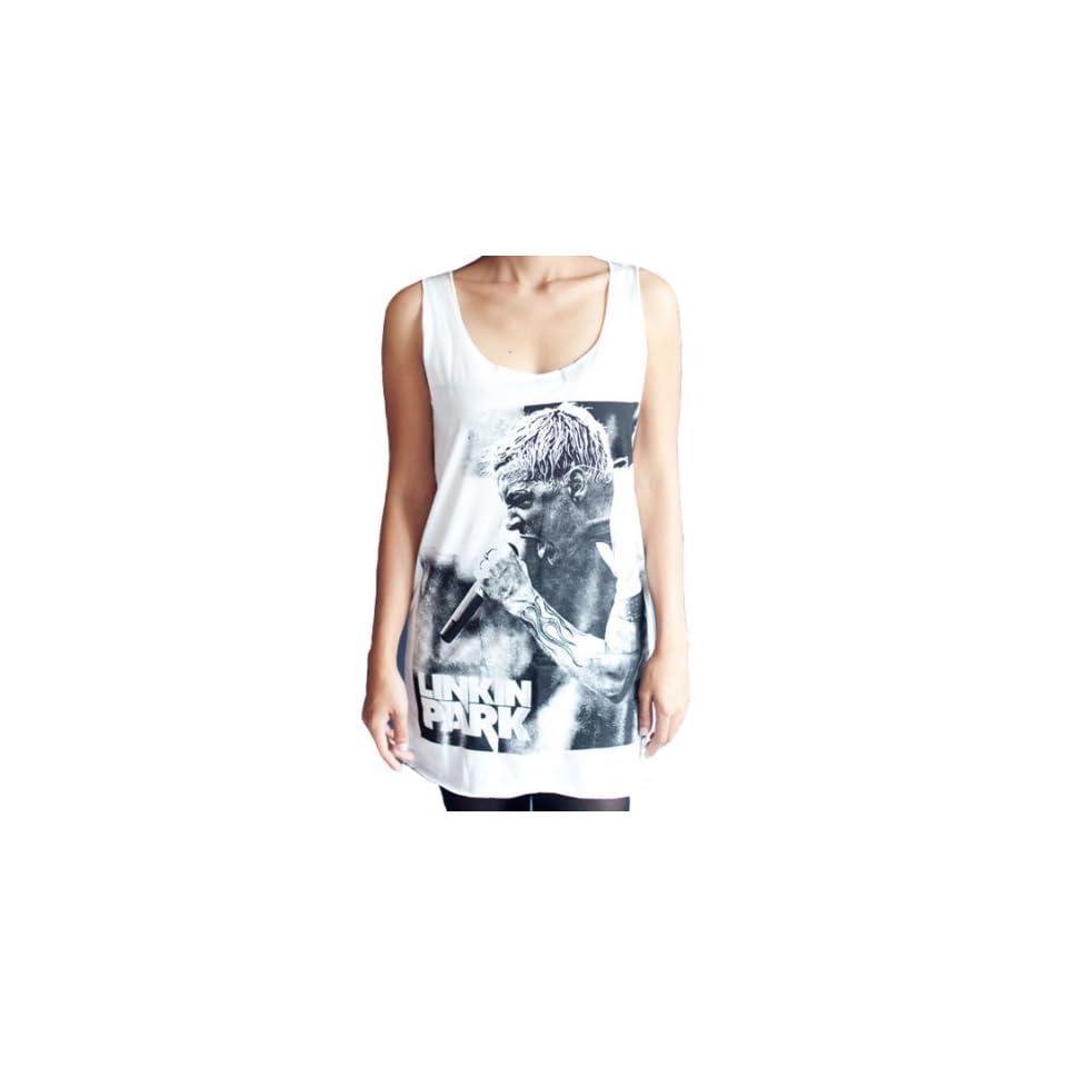 Mtm103 Linkin Park Chester Bennington T25 Rock WOMEN T SHIRT DRESS Tank Top Clothing