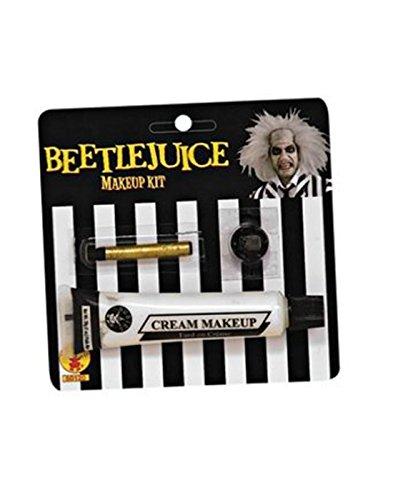 Beetlejuice Makeup Kit (Mime Costume Face Makeup)