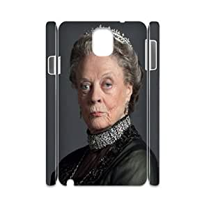 3D Yearinspace Downton Abbey The Dowager Countess of Grantham Case For Samsung Galaxy Note 3 Printed, Samsung Galaxy Note 3 Cases For Girls Cheap For Boys With White
