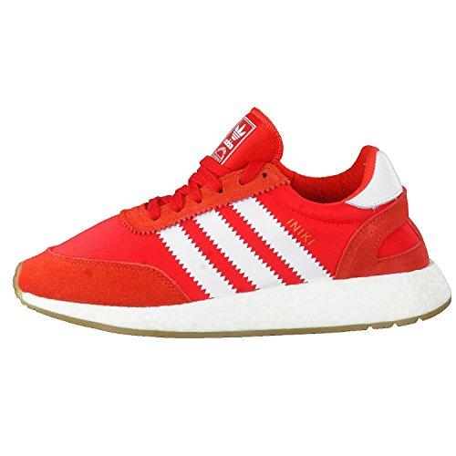 adidas Iniki Runner, Scarpe da Fitness Uomo Rosso (Rojo/Ftwbla/Gum3)