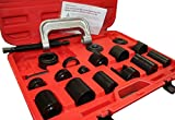 9TRADING 21PC C-PRESS BALL JOINT MASTER SET SERVICE KIT REMOVER INSTALLER 2 4 WD AUTO