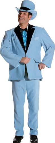 Dim Wit Blue Tuxedo Costume (One Size)