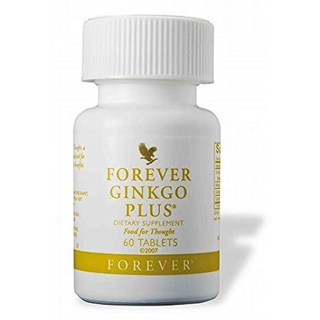 Amazon.com: Forever Living Ginkgo Plus 60 tabletas: Health ...