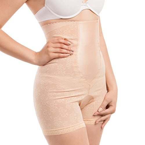Gabrialla Abdominal Body Shaping, Back Support and Slimming Girdle (Reduces up to Two Sizes) Large
