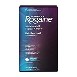 Women's Rogaine 5% Minoxidil Foam for Ha...